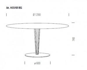 Konferensbord Pedrali krystal 300x243 Konferensbord Pedrali Krystal